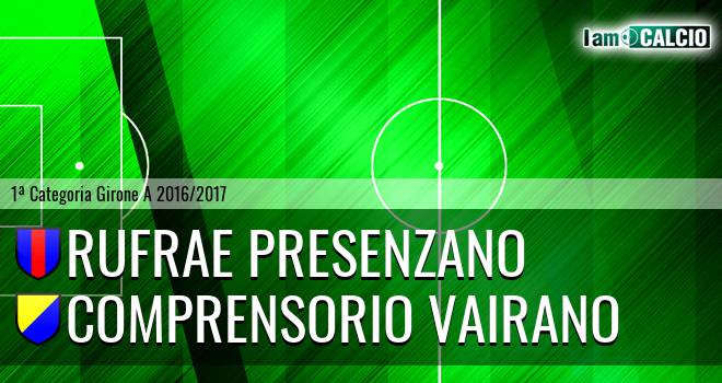 Rufrae Presenzano - Comprensorio Vairano