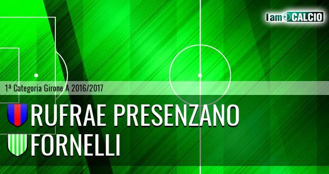 Rufrae Presenzano - Fornelli