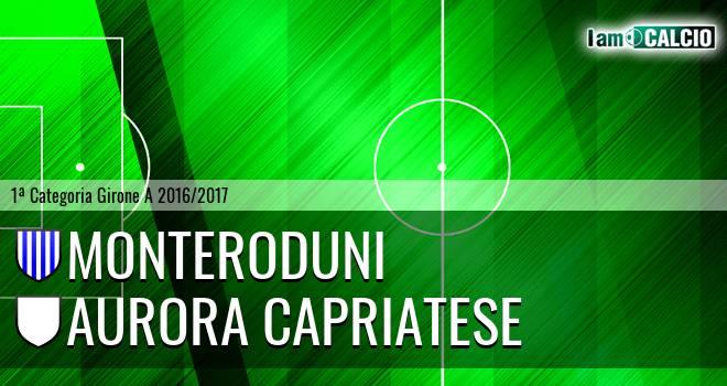 Monteroduni - Aurora Capriatese