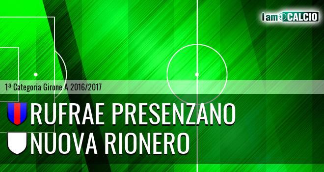 Rufrae Presenzano - Nuova Rionero