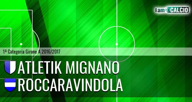 Atletik Mignano - Roccaravindola