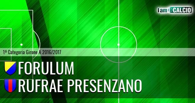 Forulum - Rufrae Presenzano