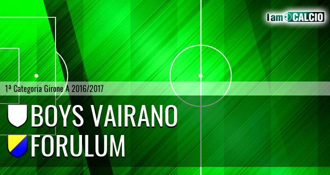 Boys Vairano - Forulum