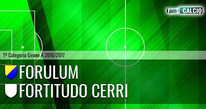 Forulum - Fortitudo Cerri