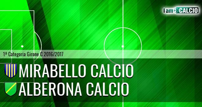 Mirabello Calcio - Alberona Calcio