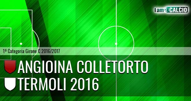 Angioina Colletorto - Termoli 2016