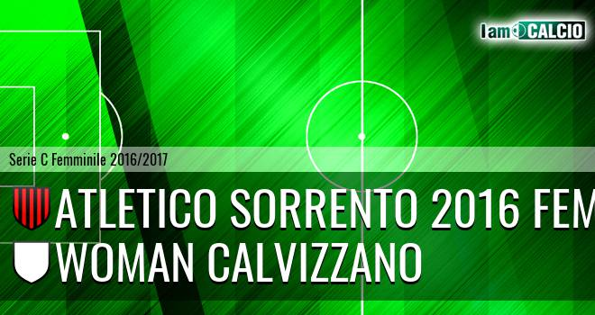 Atletico Sorrento 2016 Fem. - Woman Calvizzano