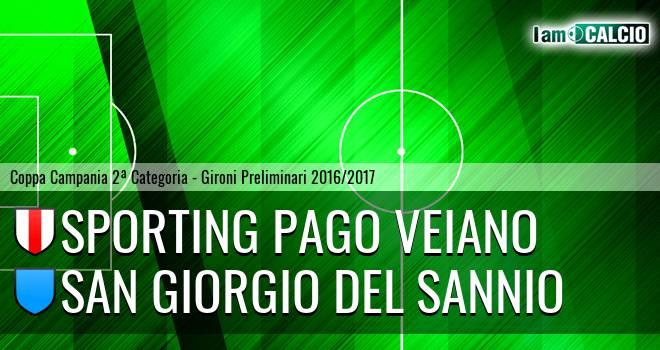 Sporting Pago Veiano - San Giorgio del Sannio