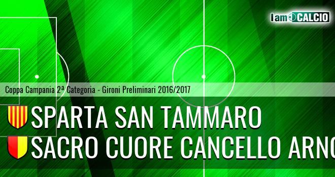 Sparta San Tammaro - Sacro Cuore Cancello Arnone