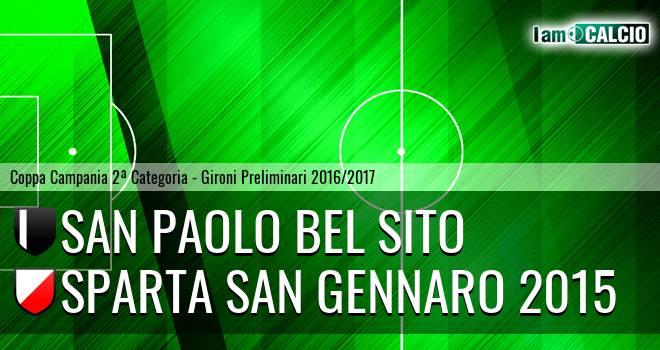 San Paolo Bel Sito - Sparta San Gennaro 2015