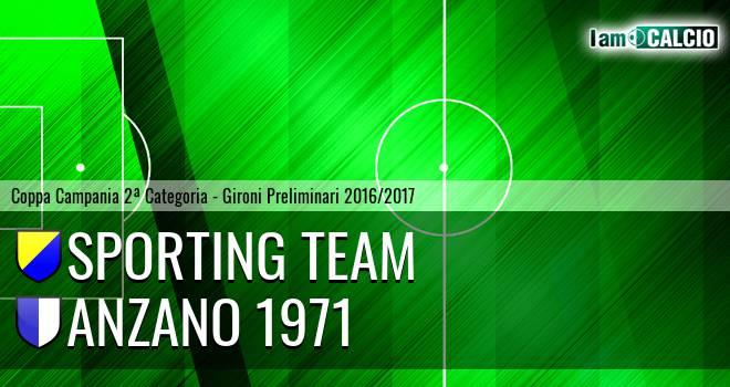 Sporting Team - Anzano 1971