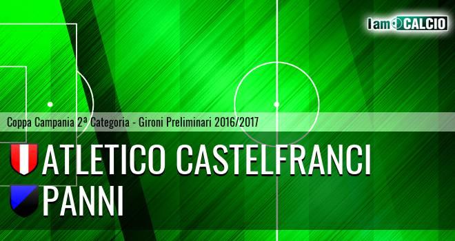 Atletico Castelfranci - Panni
