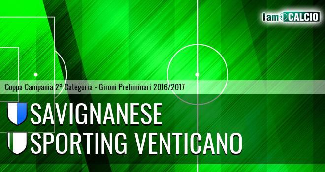 Savignanese - Sporting Venticano