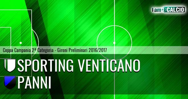 Sporting Venticano - Panni