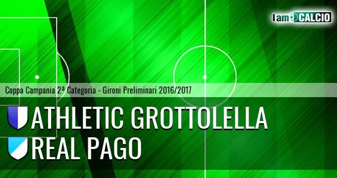 Athletic Grottolella - Real Pago