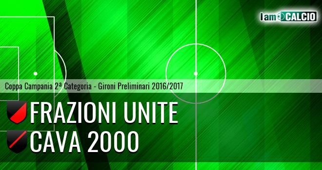 Frazioni Unite - Cava 2000