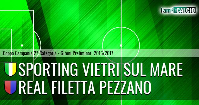 Sporting Vietri Sul Mare - Real Filetta Pezzano