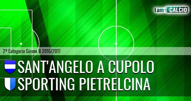 Sant'Angelo a Cupolo - Sporting Pietrelcina