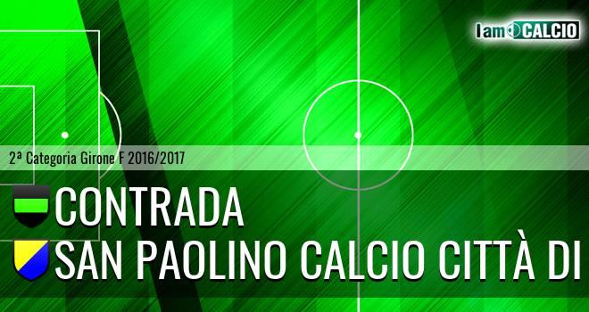Contrada - San Paolino Calcio Città di Nola