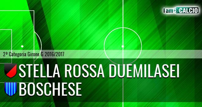 Stella Rossa Duemilasei - Boschese