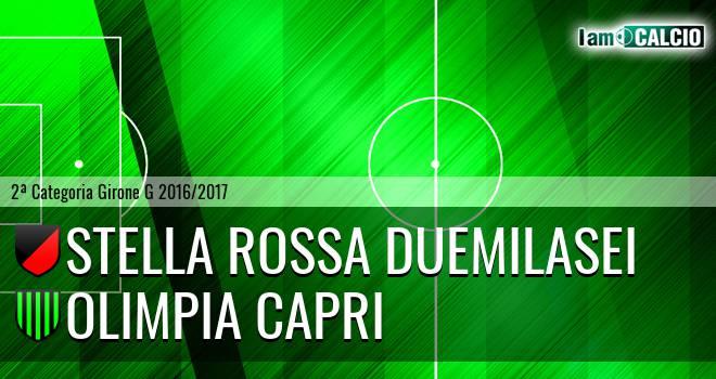 Stella Rossa Duemilasei - Olimpia Capri