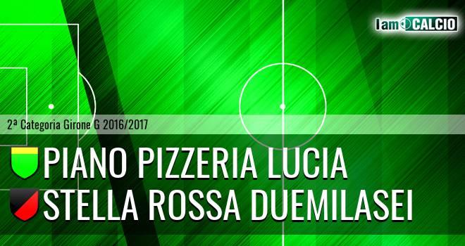Piano Pizzeria Lucia - Stella Rossa Duemilasei