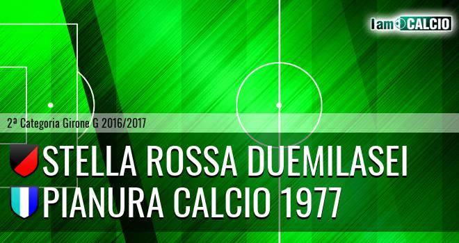 Stella Rossa Duemilasei - Pianura Calcio 1977