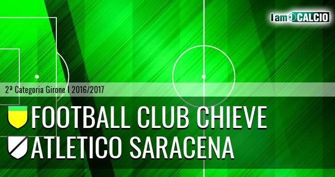 Football Club Chieve - Atletico Saracena