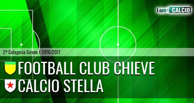 Football Club Chieve - Calcio Stella