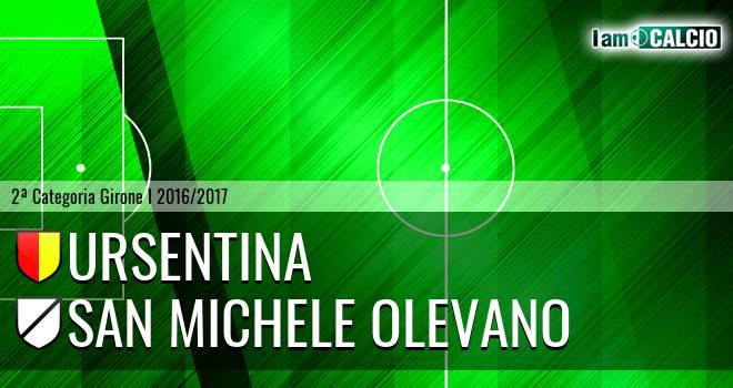 Ursentina - San Michele Olevano