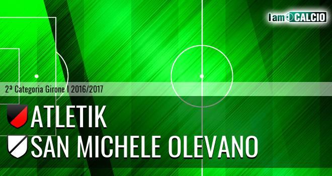 Atletik - San Michele Olevano