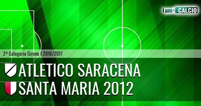 Atletico Saracena - Santa Maria 2012