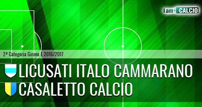 Licusati - Casaletto Calcio