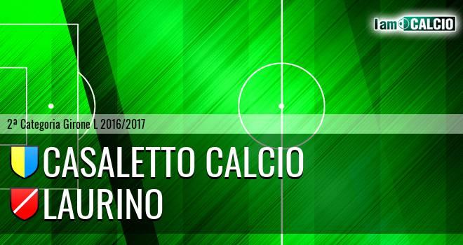 Casaletto Calcio - Laurino