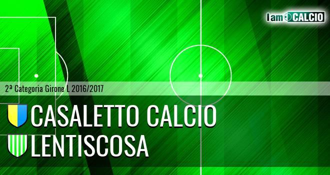 Casaletto Calcio - Lentiscosa