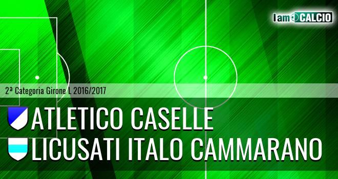 Atletico Caselle - Licusati Italo Cammarano