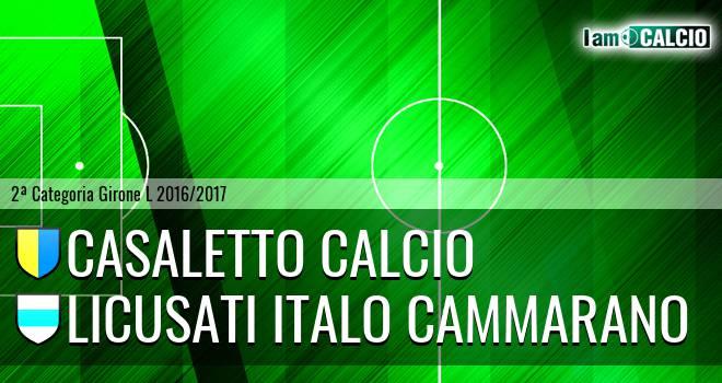 Casaletto Calcio - Licusati