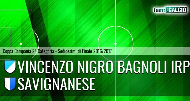Vincenzo Nigro Bagnoli Irpino - Savignanese