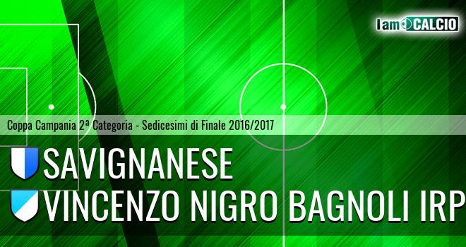 Savignanese - Vincenzo Nigro Bagnoli Irpino