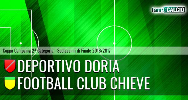 Deportivo Doria - Football Club Chieve