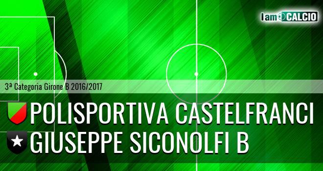 Polisportiva Castelfranci - Giuseppe Siconolfi B