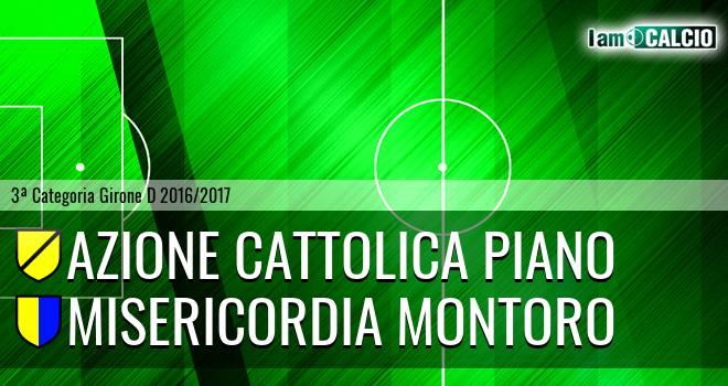 Azione Cattolica Piano - Misericordia Montoro
