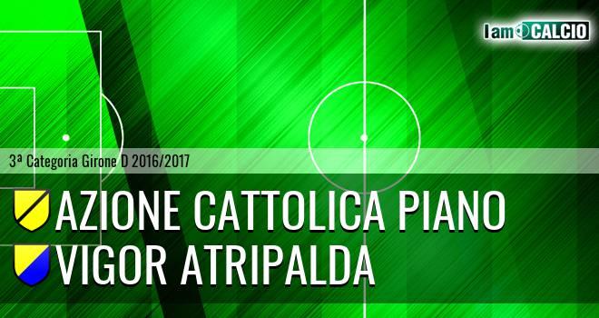 Azione Cattolica Piano - Vigor Atripalda