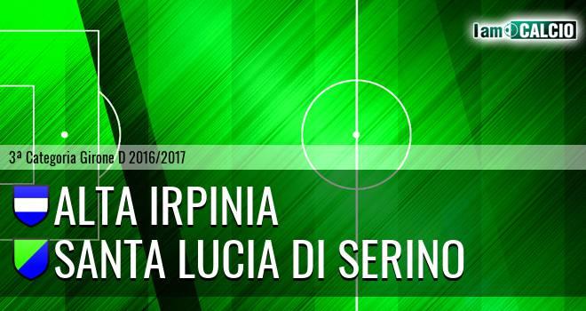 Alta Irpinia - Santa Lucia di Serino