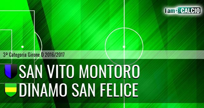 San Vito Montoro - Dinamo San Felice