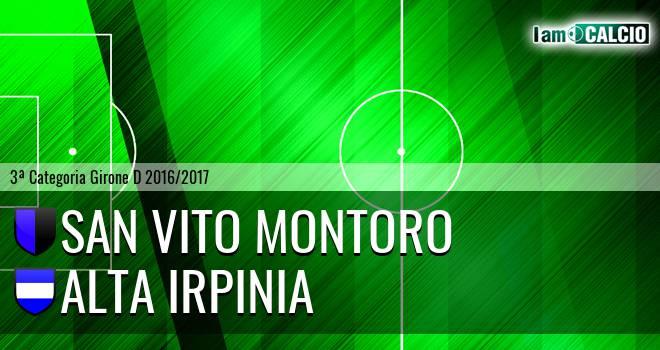 San Vito Montoro - Alta Irpinia
