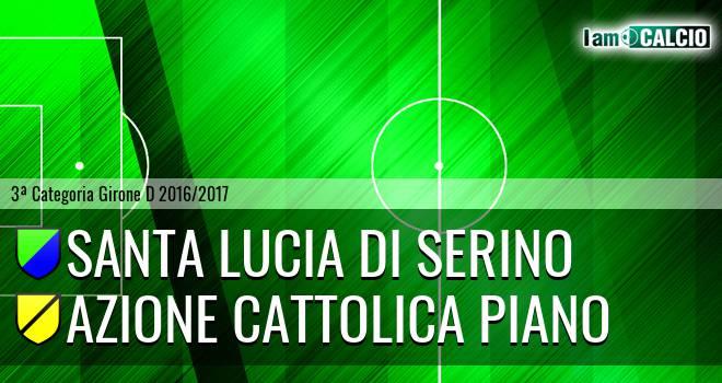 Santa Lucia di Serino - Azione Cattolica Piano