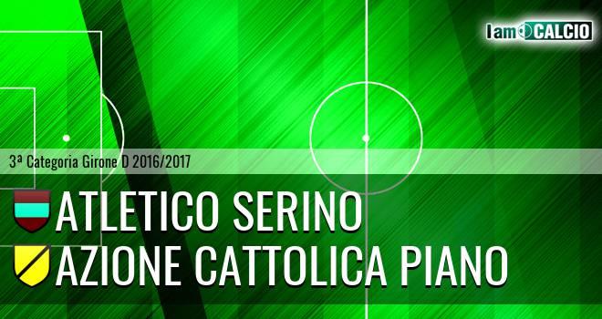 Atletico Serino - Azione Cattolica Piano