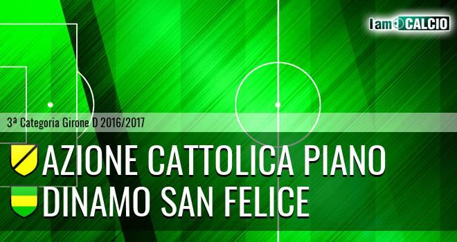 Azione Cattolica Piano - Dinamo San Felice