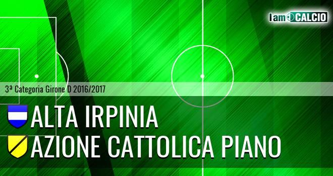 Alta Irpinia - Azione Cattolica Piano